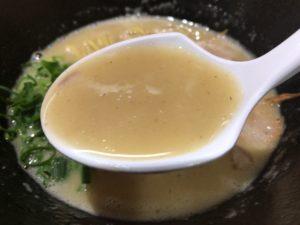 くろすの鶏煮込み塩ラーメンスープ