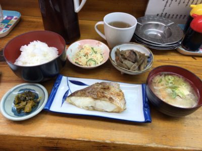 居酒屋ウエダのランチで食べられる日替わり定食