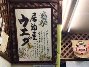 居酒屋ウエダのロゴ