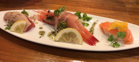 大和八木駅近くで食べられる和食専門店山葵の創作寿司