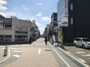 大和八木駅南口から山葵への道のり