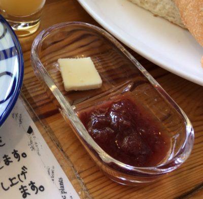 田原本のカフェ朝日堂のイチゴジャム