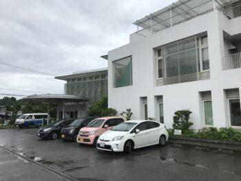 グランソール奈良の駐車場