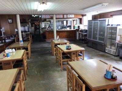 新ノ口で昭和風ランチが食べられる大黒屋食堂の内観