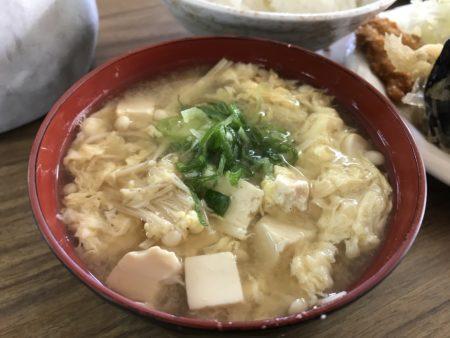 大黒屋食堂の味噌汁