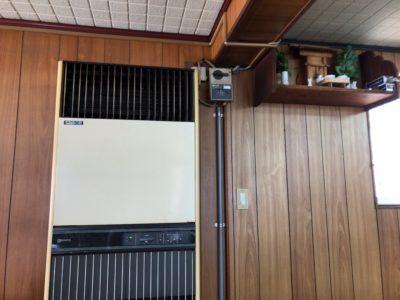 新ノ口の大黒屋食堂で使われているエアコン