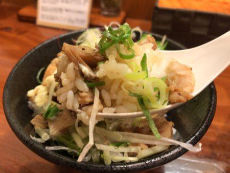 田原本暁製麺の鶏チャーシューアップ