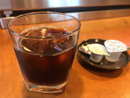 橿原・畝傍御陵前駅近くで和食ランチの食事処「なな郎」食後のコーヒー