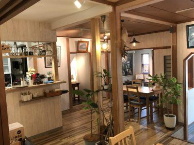 橿原神宮前近くランチカフェができるnarairoのカフェ内観3