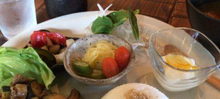 田原本のランチカフェ凛の野菜料理