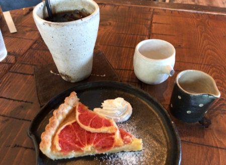 田原本のランチカフェ凛のケーキセット