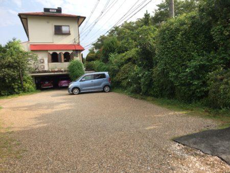 田原本あいらんどの南側駐車場