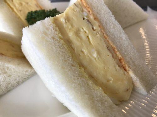 田原本青垣生涯学習センターのカフェAogakiCafeのふわふわ卵サンド