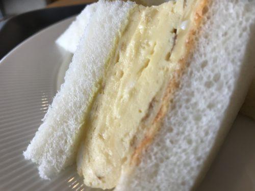 田原本青垣生涯学習センターのカフェAogakiCafeのふわふわ卵サンドアップ②