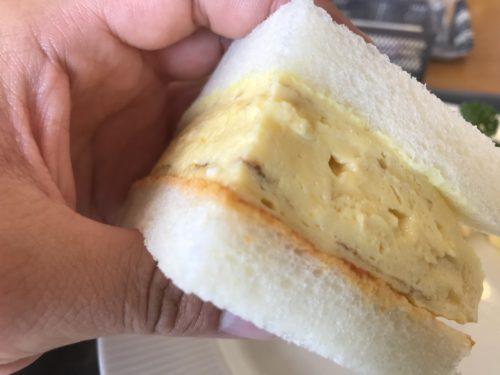 田原本青垣生涯学習センターのカフェAogakiCafeのふわふわ卵サンド③