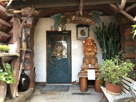 橿原畝傍御陵前のランチカフェだいこくやの入り口付近