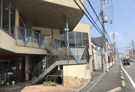 橿原神宮前・畝傍御陵前・佐藤薬品スタジアム近くのカフェスポットポルカドットの外観