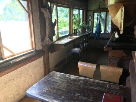 橿原畝傍御陵前のランチカフェだいこくやの喫煙ルーム
