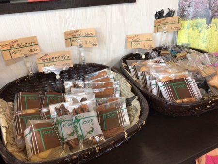橿原市醍醐町のランチカフェTroomCafeティールームカフェの手作りクッキー販売スペース