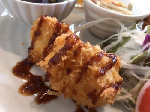 橿原市醍醐町のランチカフェTroomCafeティールームカフェのじゃがフライ