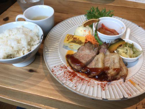 橿原大和八木駅近く奈良食堂の日替わりランチ