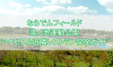 ならでんフィールド・ならでんアリーナ・鴻ノ池運動公園ガイド