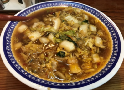 大和八木周辺で食べられる奈良ラーメン彩華