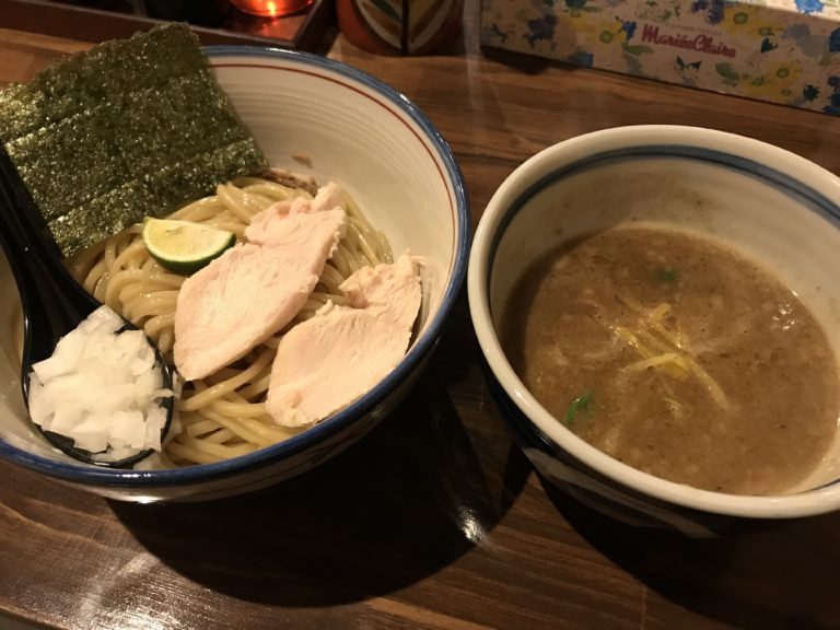 橿原・麺屋しりとりのつけ麺