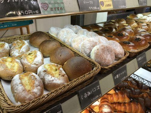 奈良・葛城のベーカリーシカフェカントリーロードのプレーン系パン