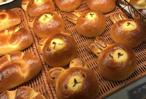 奈良・葛城のベーカリーシカフェカントリーロードの菓子パン