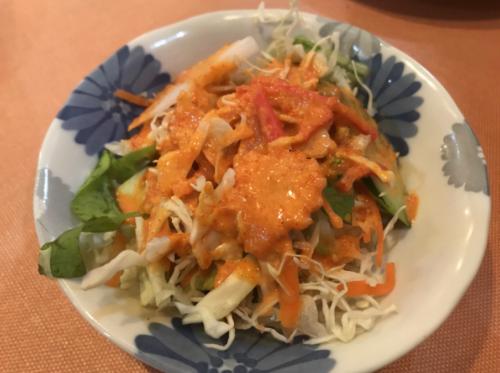 プジャ橿原葛本店のサラダ